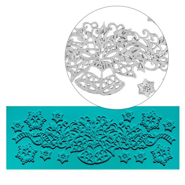 Silikon-Dekormatte, Design 22, 19cm x 7cm x 0,3cm