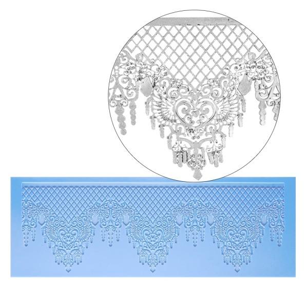 Silikon-Dekormatte, Design 9, 35,5cm x 12,7cm x 0,2cm
