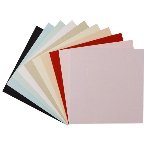 """30er Grußkarten-Set, """"Barcelona"""", 13x13 cm, 10 Farben"""