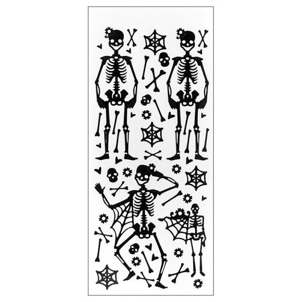 Sticker, Lackfolie, Halloween 2, schwarz