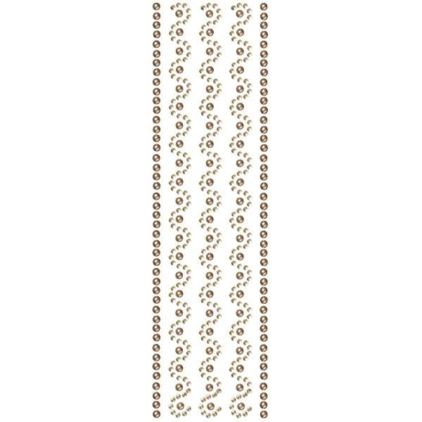 Royal-Schmuck, 5 selbstklebende Bordüren, 29 cm, champagner