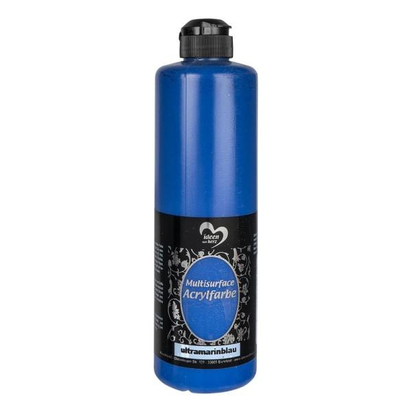 "Acrylfarbe ""Multisurface"", ultramarineblau, 500ml"