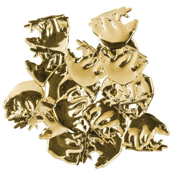 Messing Ornamente, Bär, 20 Stück