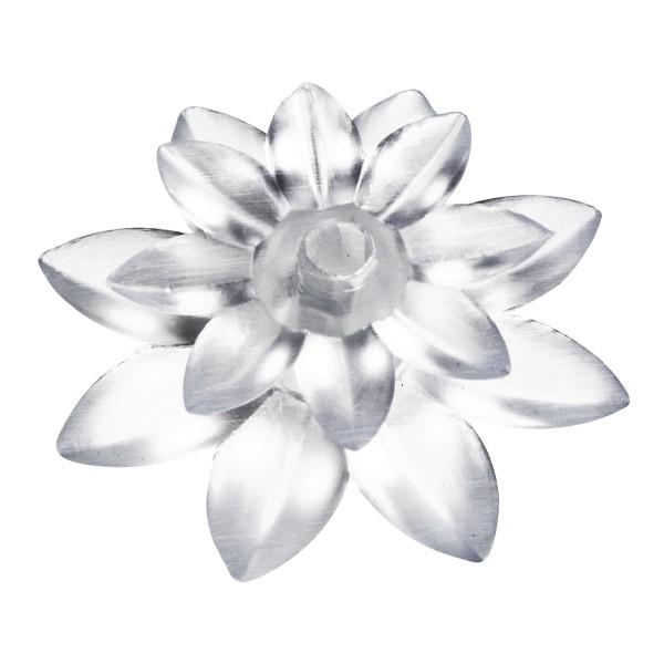 """Aufsteck-Blüte """"Lotus"""" für LED-Lichter, Ø 3,5 cm, 24er Set"""