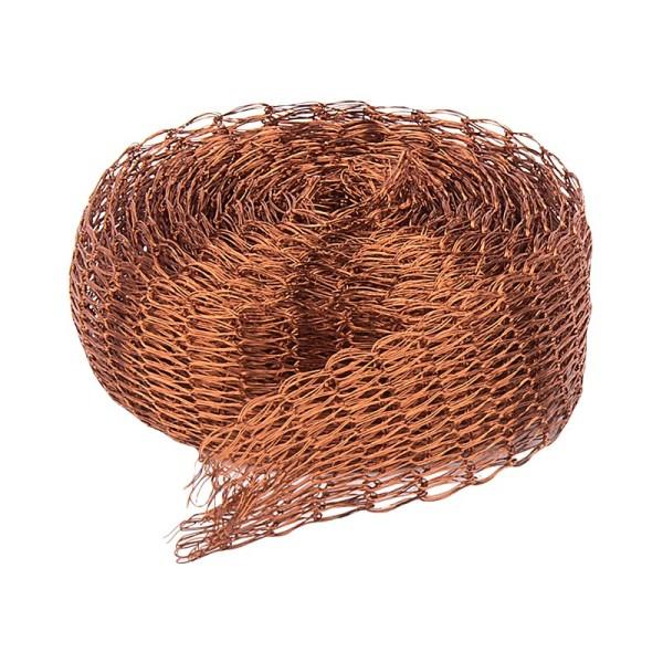 Titan-Mesh Collier-Band, 1 cm x 1 m, braun