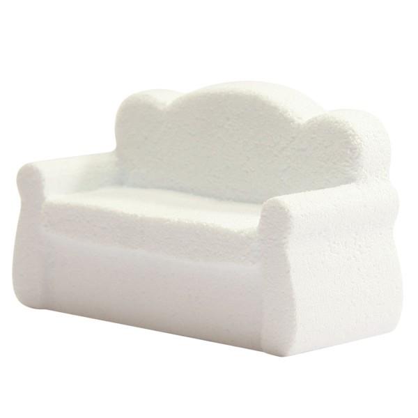 Styropor-Sofa, 17 x 7,5 x 10,5 cm