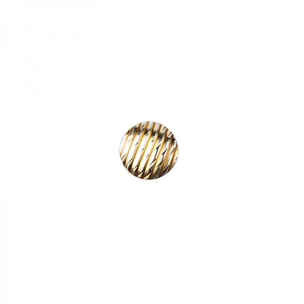 Hot-Fix Relief-Nieten zum Aufbügeln, Ø 6mm, hellgold, 200 Stück