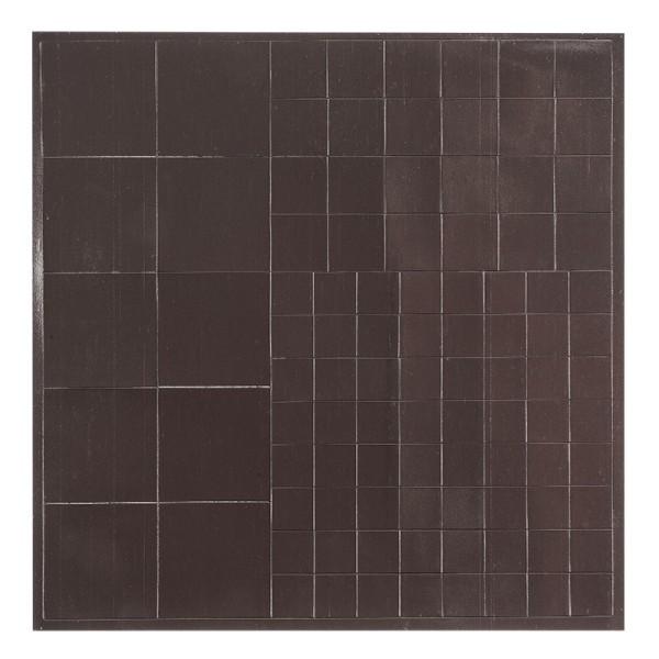 Magnetplättchen, quadratisch, selbstklebend, verschiedene Größen, 98 Stück