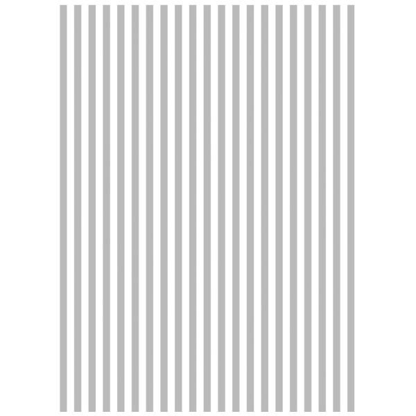 Metallic-Bügeltransfer, Hintergrund, Streifen, 25cm x 34cm, silber glänzend