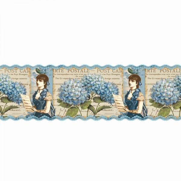 """Zauberfolien """"Hortensie 1"""", Schrumpffolien für Eier mit 24cm x 17cm, 18cm hoch, 2 Stück"""