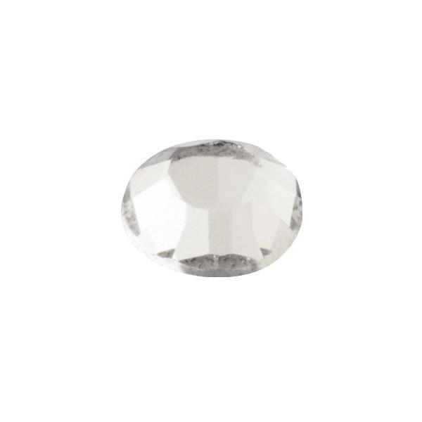 Hot-Fix Glas-Kristalle zum Aufbügeln, Ø5mm, 150 Stk., diamant