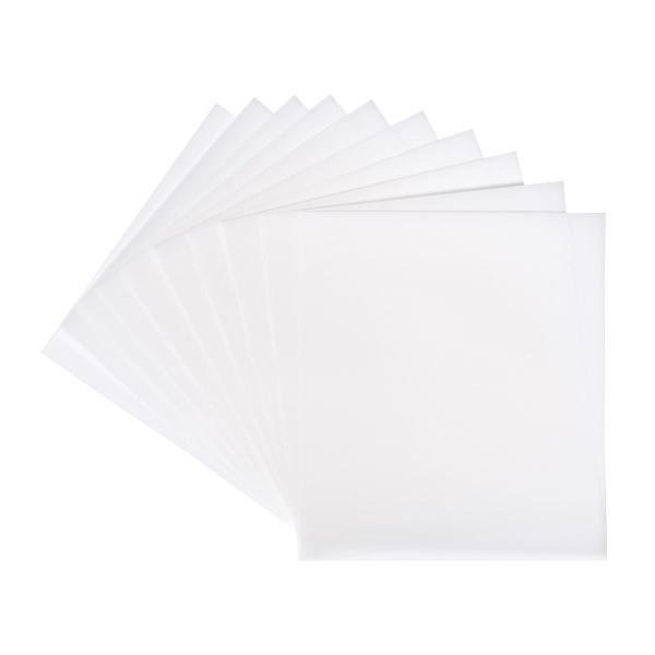 Transparentpapier, 25x20 cm, 20 Bogen, weiß, 115 g/m²