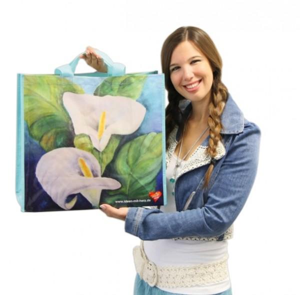Künstler-Tasche Calla, 45 x 40 x 20 cm