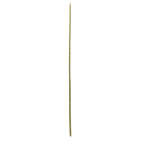 Blumenstiele, 40cm, Kunststoff mit Draht, biegsam, 10 Stück
