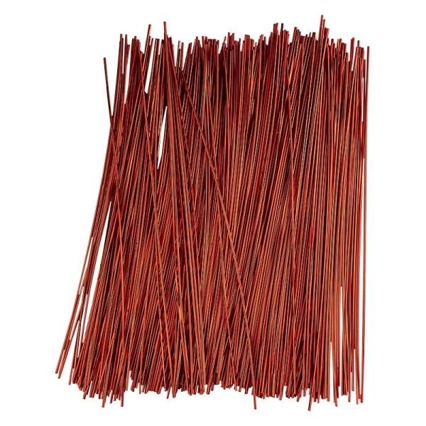 Folienhalme, Ø 2mm, 30 cm lang, 40g, rot
