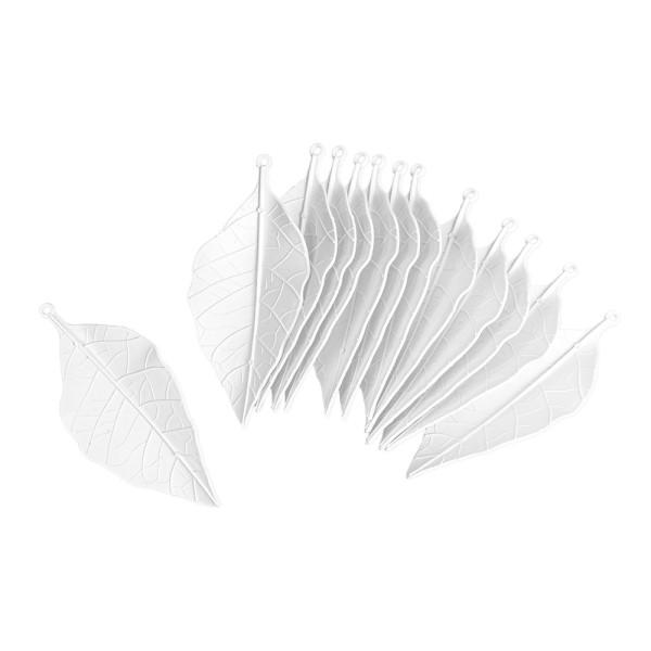 Deko-Blätter 2, Rohlinge, 6cm x 13cm, 13 Stück