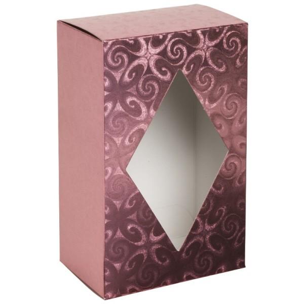 Folienkaschierte Kaffee-Faltbox, rosa