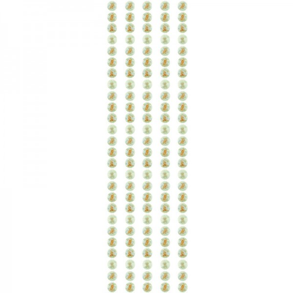 "Premium-Schmuck-Bordüren ""Goldfluss"", selbstklebend, 29cm, mint"