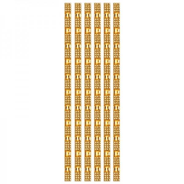 Royal-Schmuck, 6 selbstklebende Bordüren, 29 cm, orange