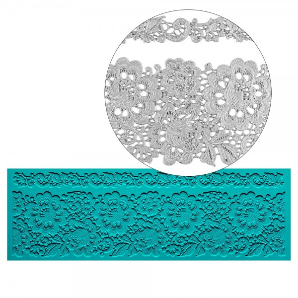 Silikon-Dekormatte, Design 29, 30cm x 10cm x 0,2cm