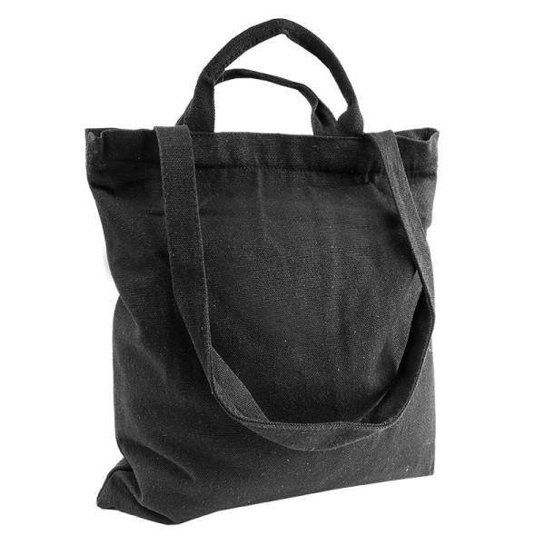 Tasche Claudia, Canvas, 32cm x 37cm, schwarz