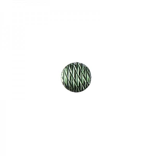 Hot-Fix Relief-Nieten zum Aufbügeln, Ø 6mm, dunkelgrün, 200 Stück