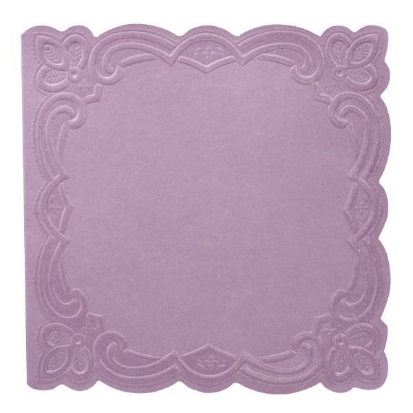 """10er Grußkartenset Deluxe, """"Rom"""", 15x15cm, violett"""