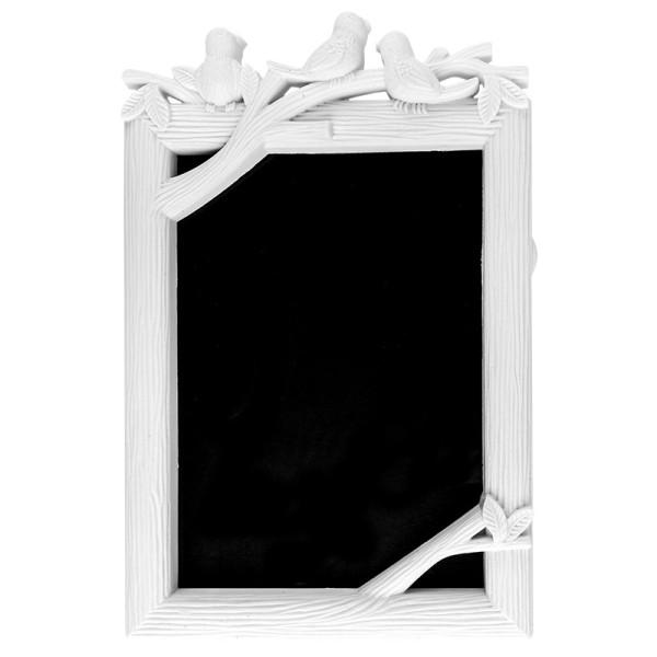 Relief-Wechselrahmen, Design 6, weiß, 15,4cm x 23cm, für Fotos 13cm x 18cm