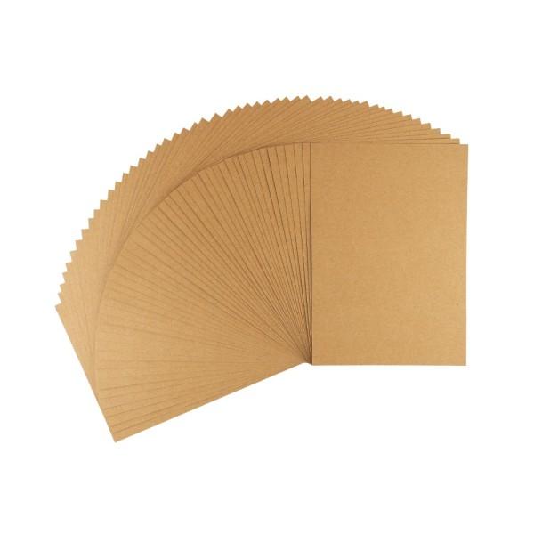 Kraftpapier, DIN A5, 220 g/m², 50 Bogen