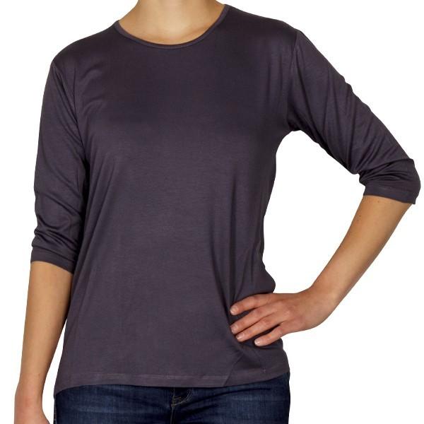 Creative Shirt, 3/4-Ärmel, grau, Größe 36/38