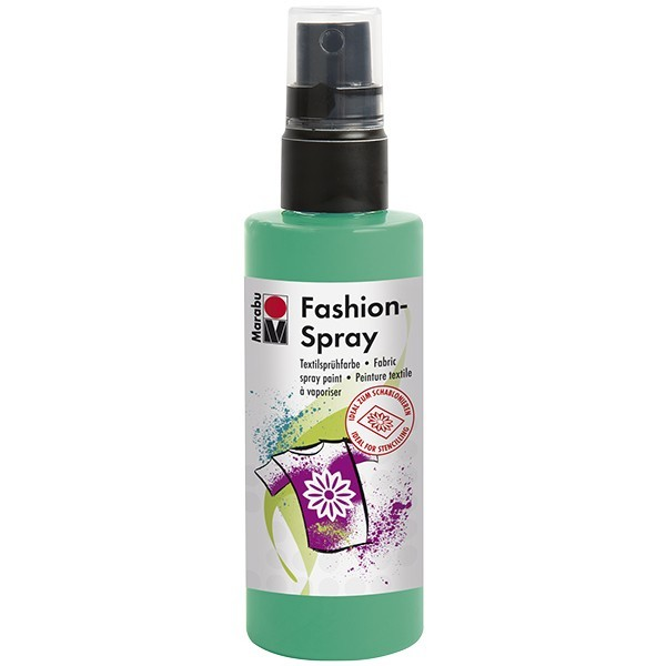 Marabu Fashion-Spray/Textil-Sprühfarbe, 100ml, apfel