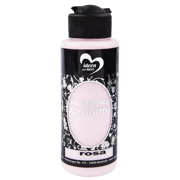 "Acrylfarbe ""Multisurface"", rosa, 120ml"