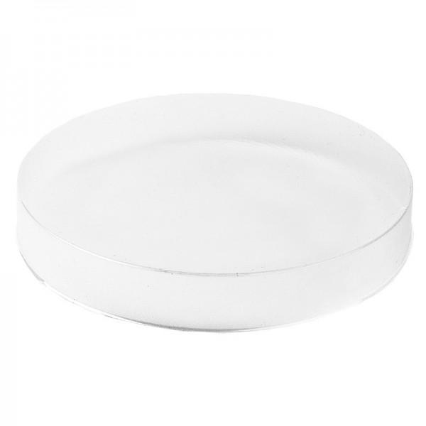 Vario-Podeste, Kreis, Ø10cm, 1,5cm hoch, transparent, 10 Stück