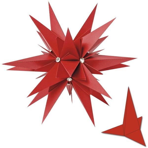 Star Julietta, 20 cm Ø, 20 Stanzformen