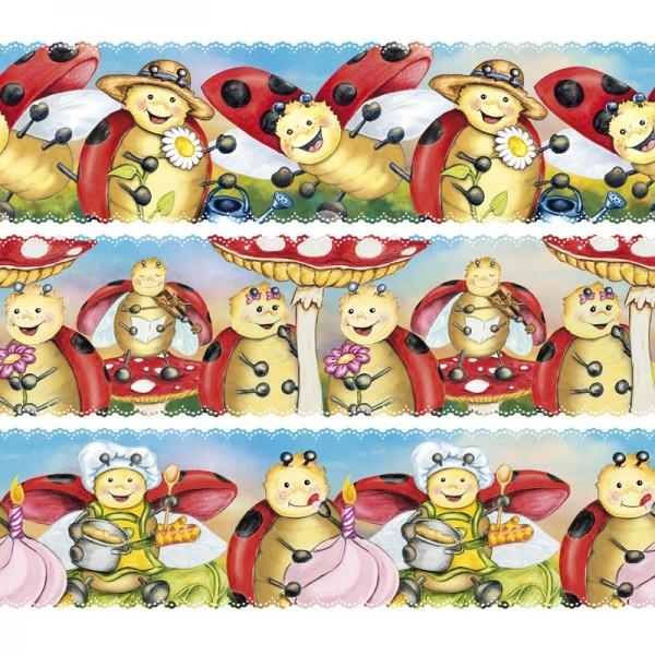 """Zauberfolien """"Lucky Lo 1"""", Schrumpffolie für Ø6cm, 5,5cm hoch, 6 Stück"""