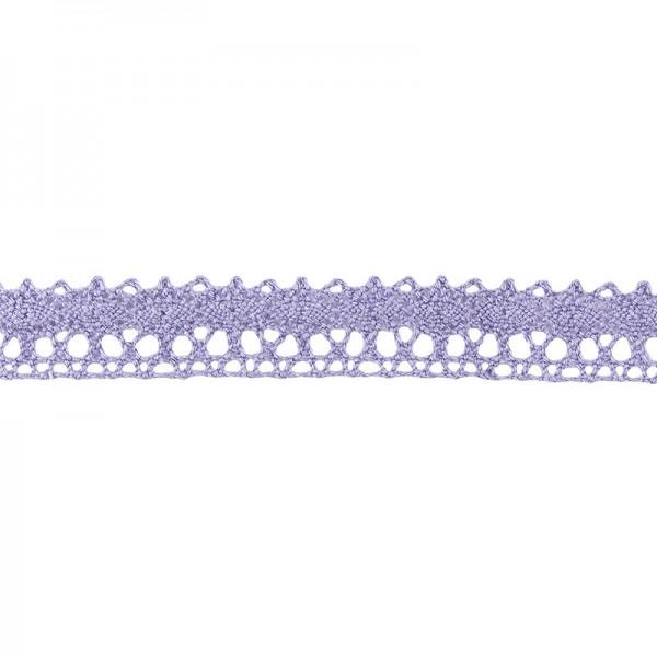Häkelspitze Design 5, 1,7cm breit, 2m lang, flieder