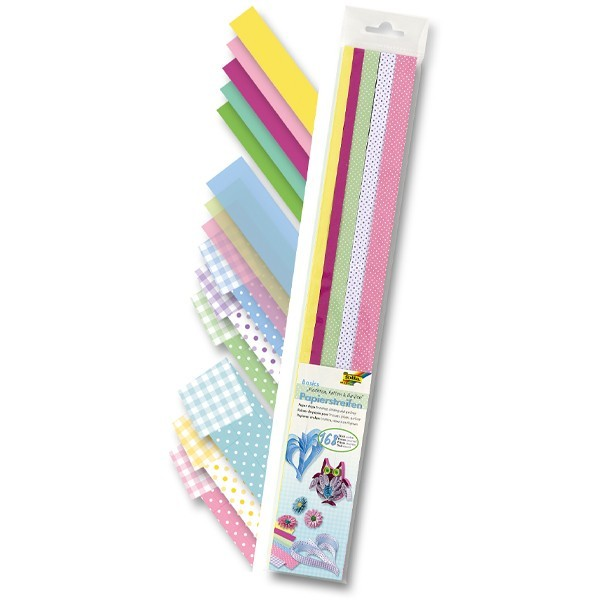 Folia Papierstreifen, Basics, 50 cm, 168 Stück