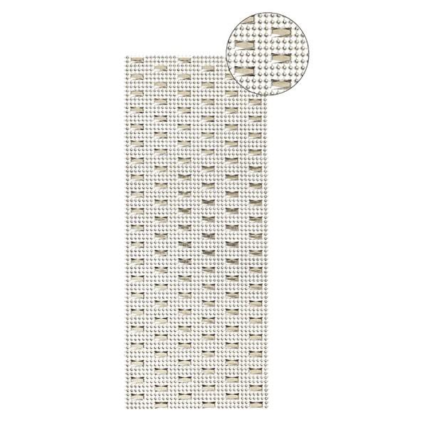 Schmuck-Netz, selbstklebend, 12 x 30 cm, gold, Design 5