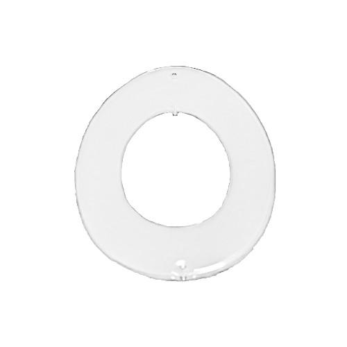Acryl-Anhänger, Ei, 8 x 6 cm