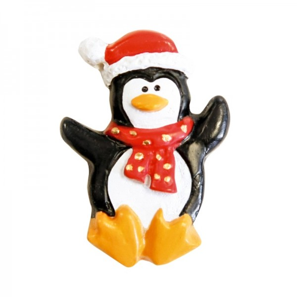Deko-Pinguin, Relief, 10er Set