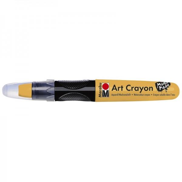 Marabu Art Crayon/Aquarell-Wachsmalstift, wasserlöslich, karamell