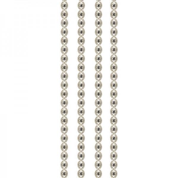"""Premium-Schmuck-Bordüren """"Bracelet 3"""", selbstklebend, 29cm, gold"""