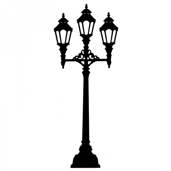 Stanzschablone, Laterne 2, 5,9cm x 14,7cm