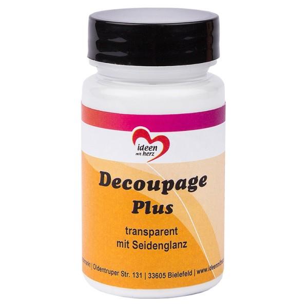 Decoupage Plus, transparent mit Seidenglanz, 90ml