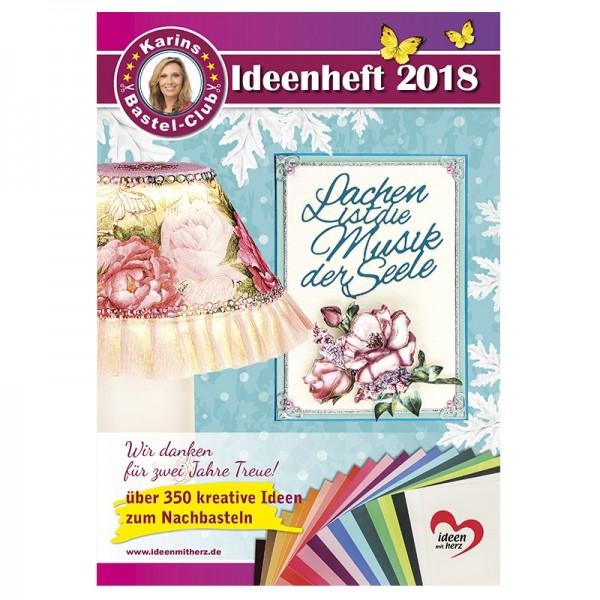 Bastelclub-Ideenheft 2018, über 350 kreative Ideen, DIN A4, 48 Seiten