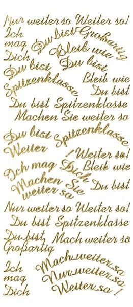 Sticker, Schrift, Grüße, gold