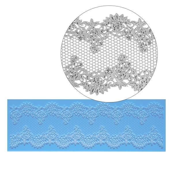 Silikon-Dekormatte, Design 3, 30cm x 10cm x 0,2cm