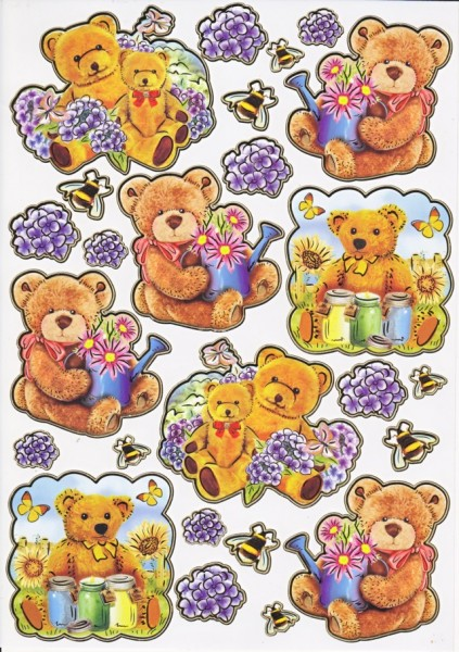 Ultra Gloss Sticker, Teddys