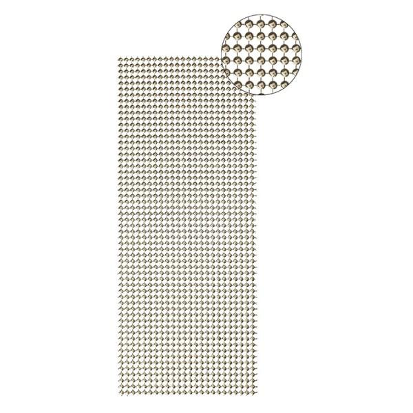 Schmuck-Netz, selbstklebend, 12 x 30 cm, gold, Design 8