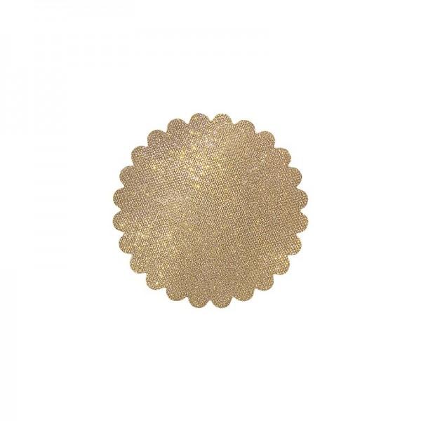 Lichteffekt-Stanzornament, Diamant-Effekt, Ø9cm, 20 Stück